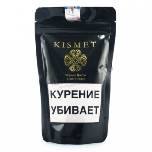 купить Табак Kismet - Black Flowers 100 г